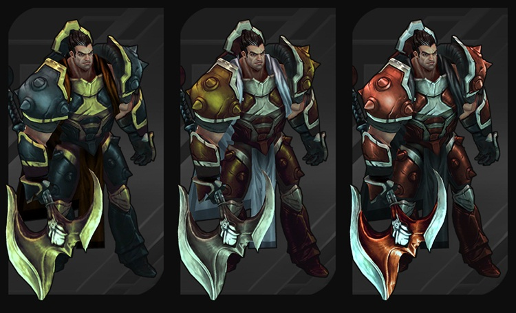 Darius Chroma Pack