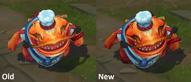 Master Chef Tahm Kench Update