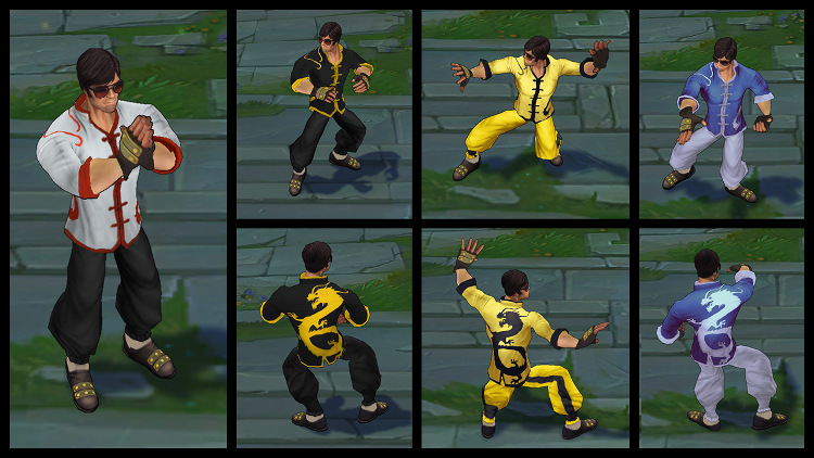 Dragonfist Lee Sin Chroma Pack