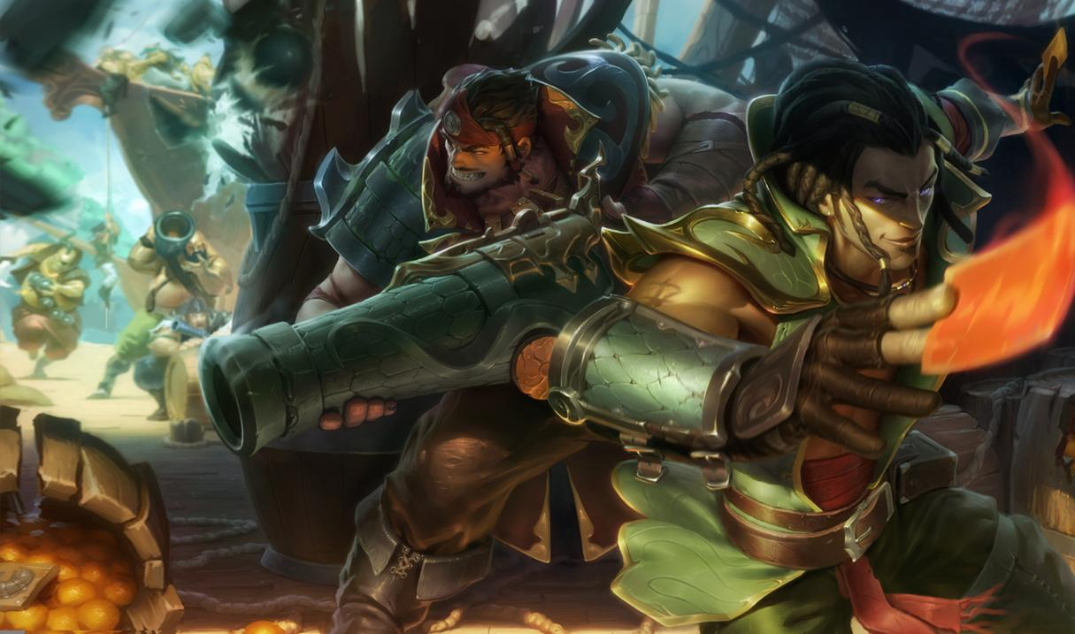 Gerissener Twisted Fate