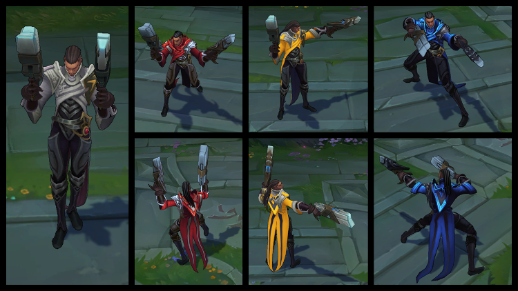 Lucian Chroma Pack